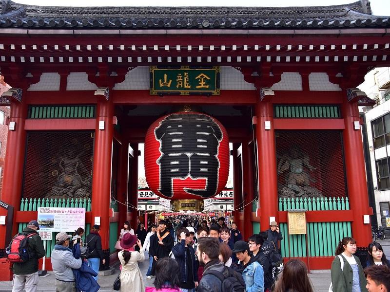 Kaminarimon Gate, Asakusa, Rediscover Tours