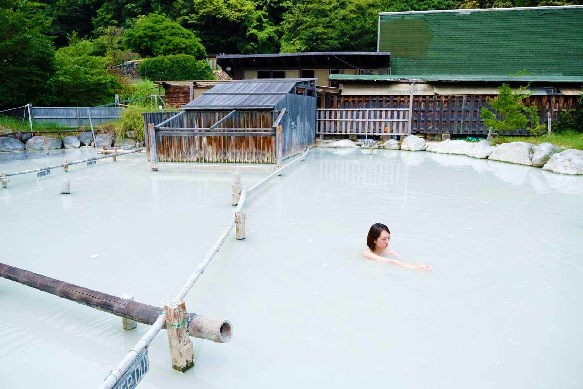 Beppu Outdoor Mud Bath, Japan Tours, RediscoverTours.com