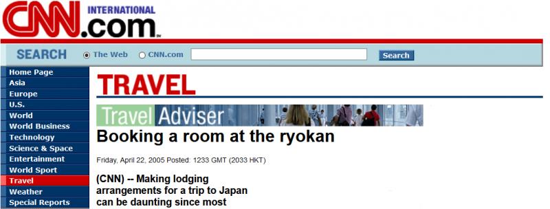 CNN, Japan Tours, RediscoverTours.com