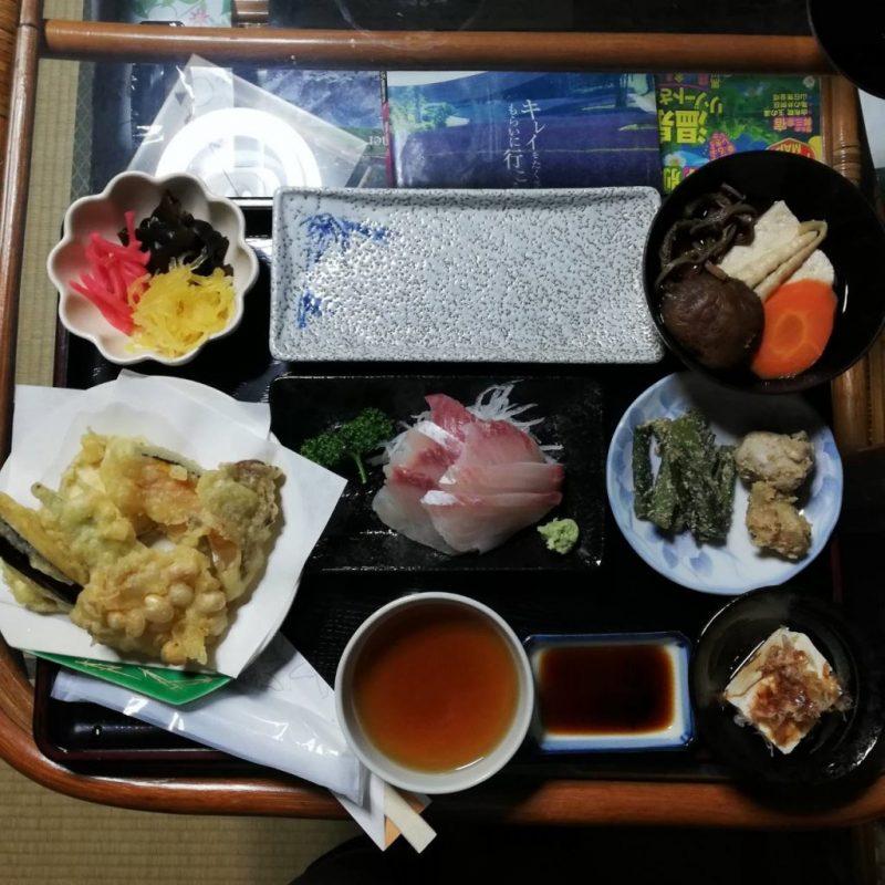 Dinner at Goyomon. Rediscover Tours