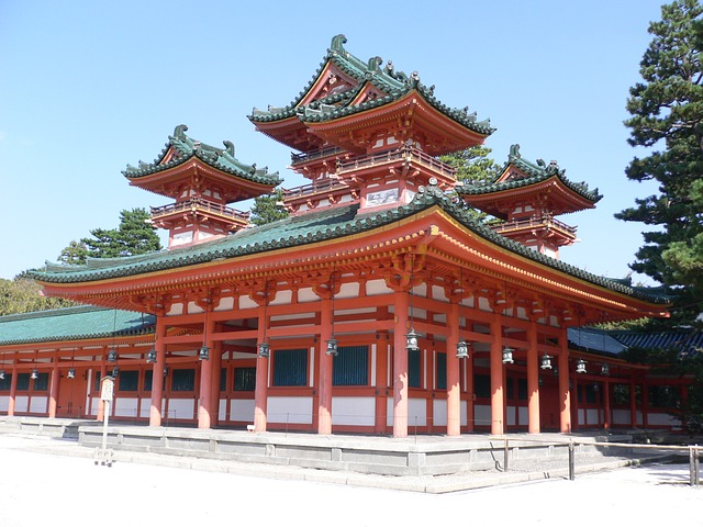 Heian-Shrine-Kyoto, Japan Tours, RediscoverTours.com