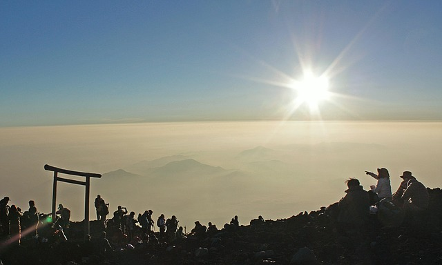 Top of Mt Fuji, RediscoverTours.com